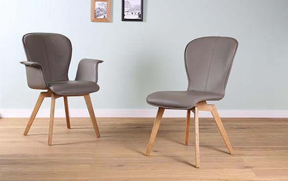 esszimmerst hle belle blake perfektes leder design. Black Bedroom Furniture Sets. Home Design Ideas